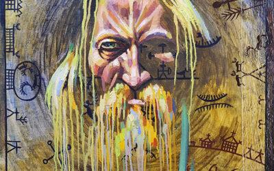 Vitali Dobrinin kuvitti Kal'evalan vienankarjalakši